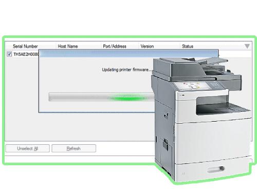 Lexmark X792de Firmware Update