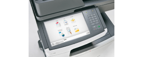 Lexmark X792de Scan To Email