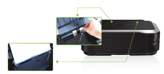 Load Sheets in to the Canon IP4600 Printer