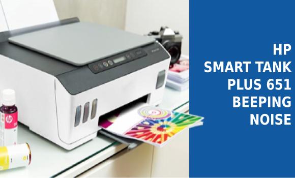 HP Smart Tank Plus 651 printer Setup