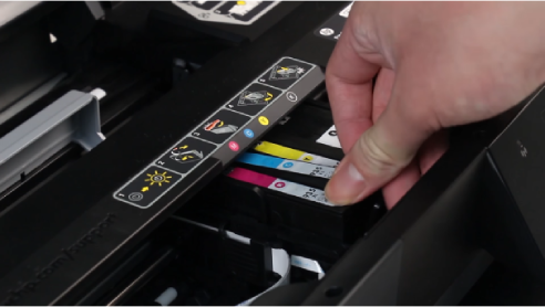 hp ojpro 6830 ink cartridge installation