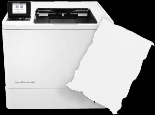 HP Laserjet Enterprise M609dn Paper Jam