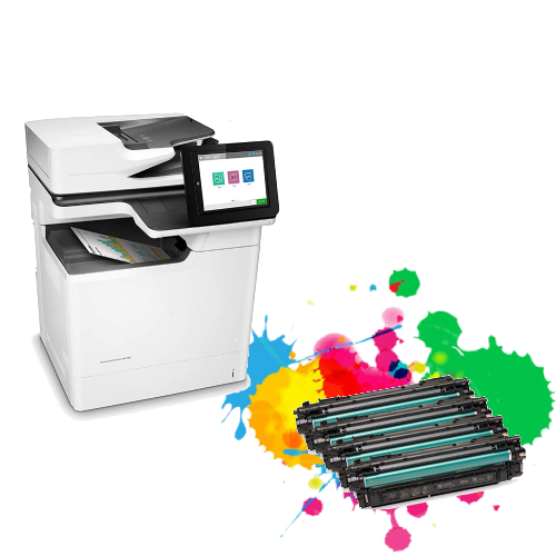 Hp Laserjet Mfp m681dh First-Time Setup