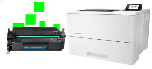 HP Laserjet Enterprise M507n Toner Replacement
