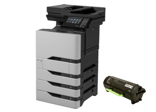 Lexmark CX725DHE Setup Toner Replacement guide