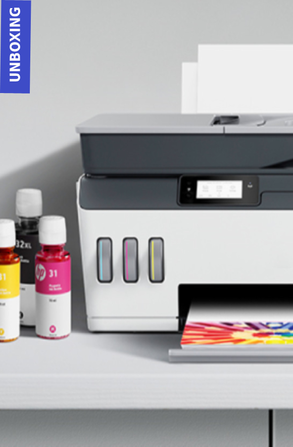 HP Smart Tank Plus 651 printer   Unboxing