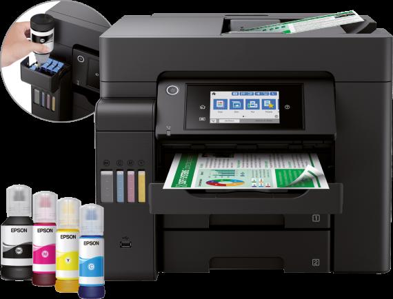 Epson EcoTank Pro ET-5800 Printer Setup